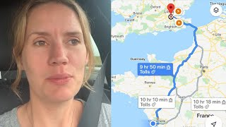 'We're driving 10 hours to get back to England before quarantine is enforced'