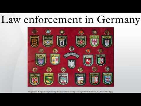 Law enforcement in Germany