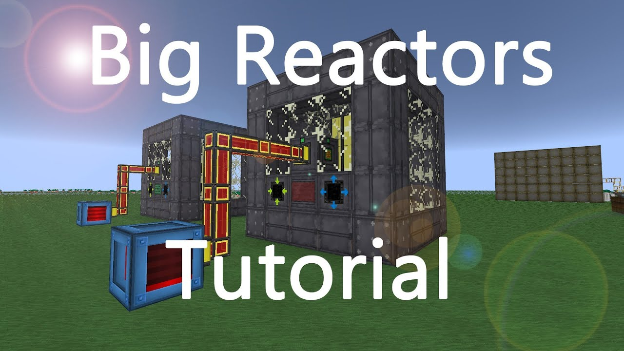 Minecraft tutorial big reactors easy to build english youtube baditri Choice Image