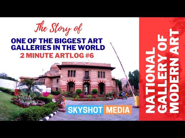 National Gallery of Modern Art | 2 Minute Artlog #6