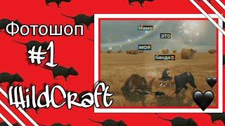 • WildCraft   Фотошоп #1   • Polinochka Play •