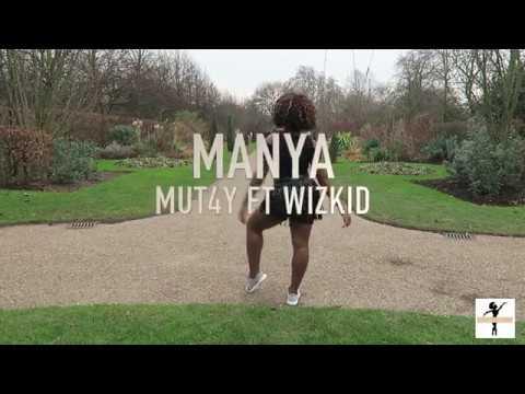 MUT4Y FT WIZKID - MANYA   taffsthastarh choreography/freestyle