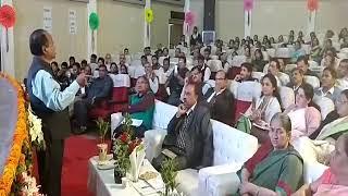 ACSSE Mr. P.K.Das views on Skill Passbook at divisional level workshop faridabad/ Manoj Lakra