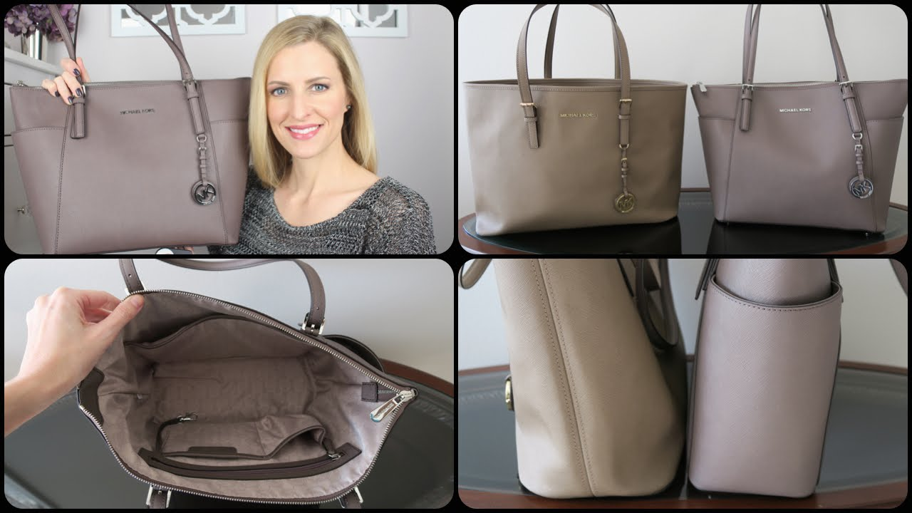 d86ed28c8c52 Michael Kors Top Zip Tote Review & Comparison | #michaelkors - YouTube
