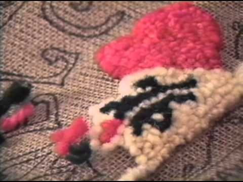 Hooking Rugs With Yarn