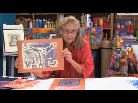 Brava Art Press - Printmaking for Young Children -- Card Printing