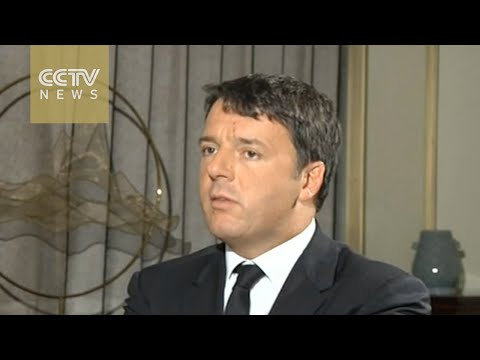 Exclusive interview with Matteo Renzi: Italy to participate in the Belt and Road Initiative