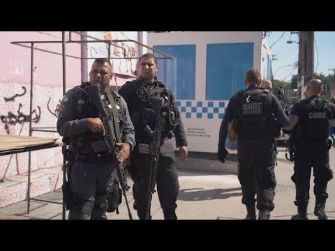 Cap Amériques - A Rio, les snipers de la police brésilienne sèment la peur
