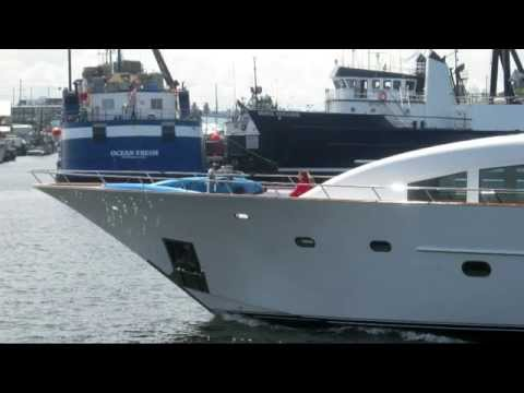 Salty Dog Maritime Marketing - Superyachts in Seattle Ship Canal