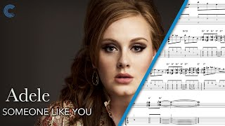 Alto Sax - Someone Like You - Adele - Sheet Music, Chords, & Vocals