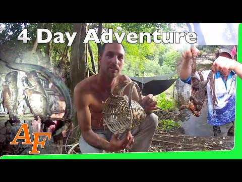 Catch n Cook a 4 day survival hike Andy's Fish Video EP.333