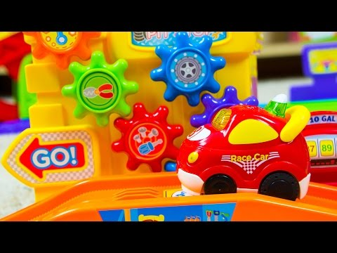 VTech Go! Go! Smart Wheels Ultimate RC Speedway Toy Cars | Kinder Playtime
