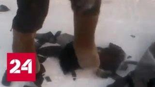 На Ямале от мороза колеса ломаются, как сухари - Россия 24