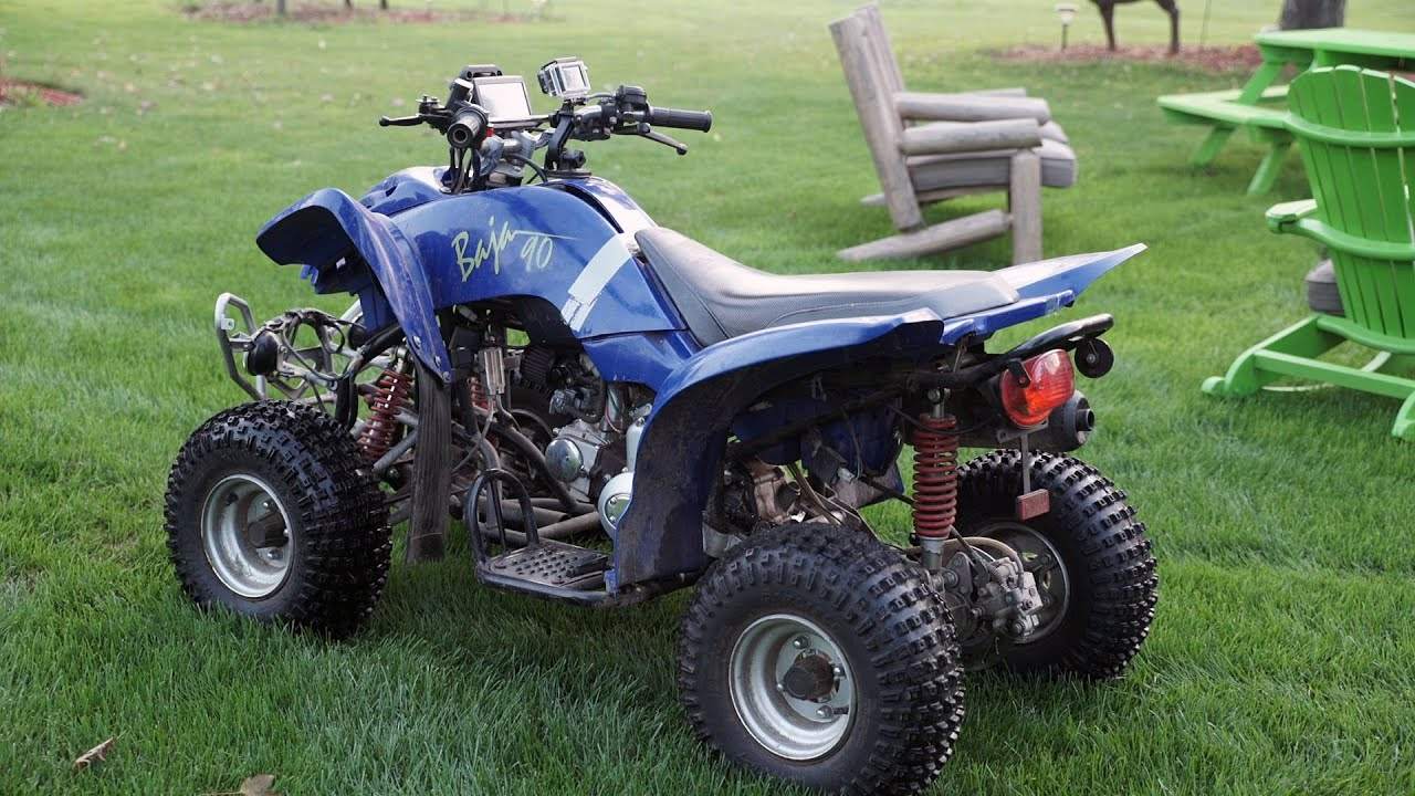 maxresdefault 90cc atv rev limiter governor removal top speed run youtube 2003 Dinli 90Cc Oil Tank at edmiracle.co