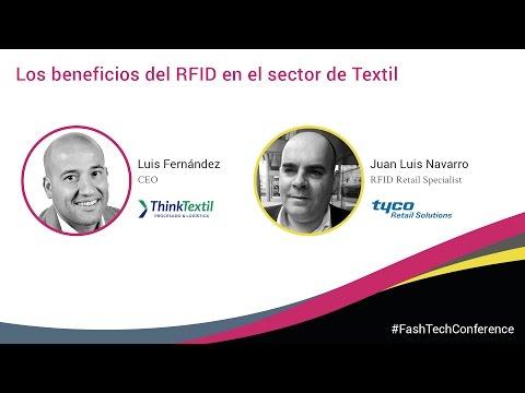 FashTech Conference 2016. Luis Fernández (ThinkTextil) & Juan Luis Navarro (Tyco)
