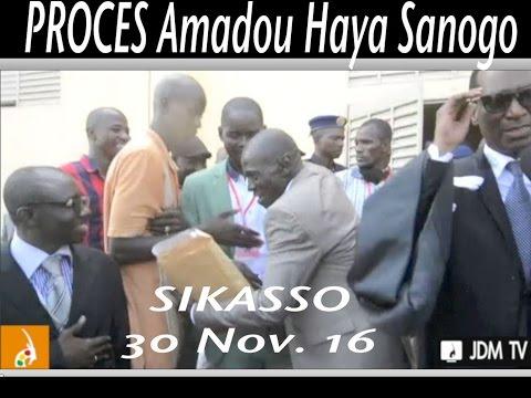 Procès Amadou Haya Sanogo Sikasso(1er Jour)