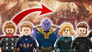 Avengers 4 LEGO LEAK Possibly Reveals Major Plot Line