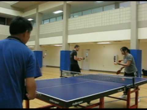 Table Tennis Teacher: Chinese Coach Spends Vacation with University Club