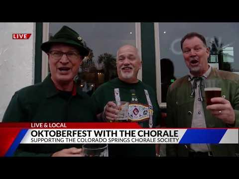 Colorado Springs Chorale Oktoberfest FOX21 Morning News