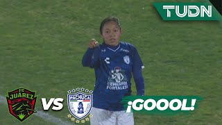 ¡Esto ya es goleada! Salazar marca | Juárez 0-3 Pachuca | Liga Mx femenil - CL 2020 J1 | TUDN