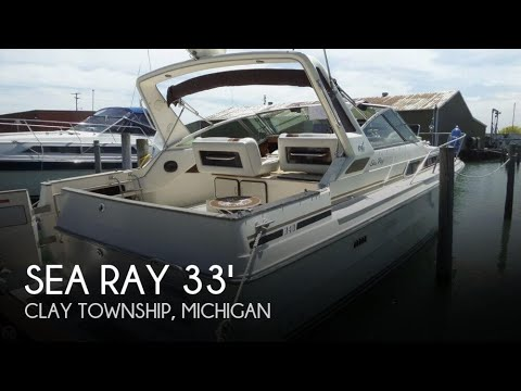 SOLD Used 1987 Sea Ray 340 Sundancer In Clay Township Michigan