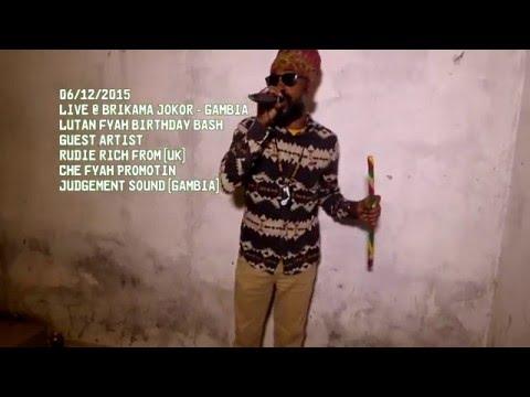Lutan Fyah & Rudie Rich Live Concert Full performance | DEC 2015 |  Brikama Jokor Gambia West Africa