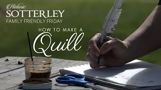 How to make a Quill | Family Friendly Friday