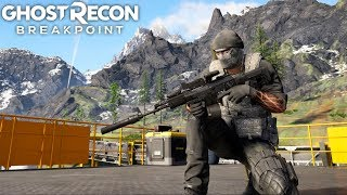 Ghost Recon Breakpoint TAKING ON AN ARMY! Ghost Recon Breakpoint Free Roam
