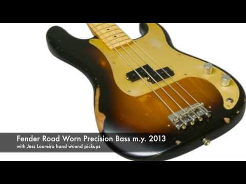China vs. Fender Precision Bass with same pickups