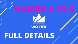 Wazirx A to Z full details | Wazirx indian crypto exchange | Cryptocurrency Tamil Guru #wazirxtamil
