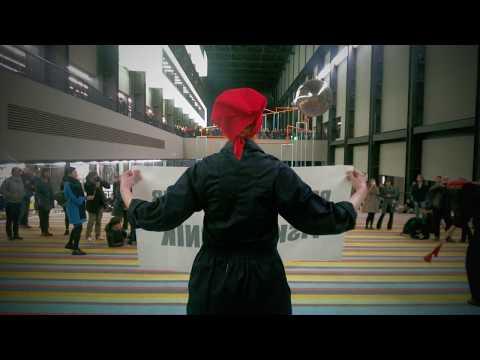 PK Fiskulturnik at Tate Modern (Turbine Hall, 24th November, 2017)