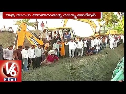 6 Year Old Boy Falls Into Borewell   Rescue Operation Continues   Maharashtra - V6 News