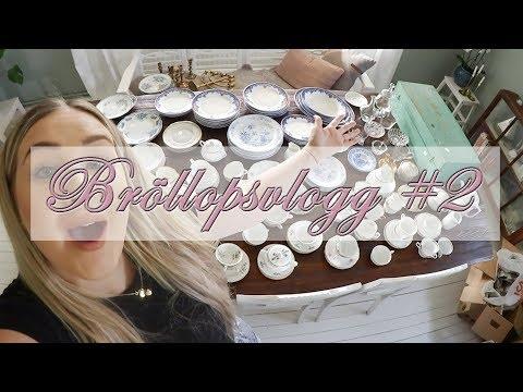 Köper 339 saker på loppis! (Till bröllopet) | BRÖLLOPSVLOGG