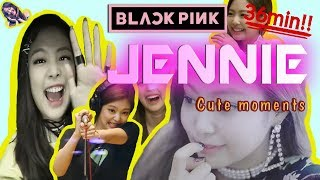 36 Minutes BLACKPINK JENNIE cute moments Compilation  / 36분 블랙핑크 제니 귀여운 순간들 [Eng sub]