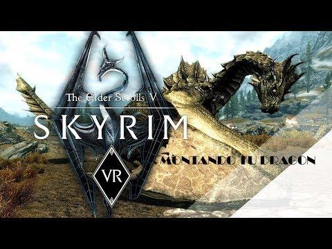 Monta un Dragon en Skyrim VR