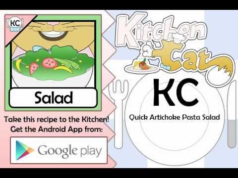 Quick Artichoke Pasta Salad - Kitchen Cat
