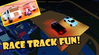 RACE TRACK UPDATE w/ THE DREAM TEAM! Roblox JAILBREAK