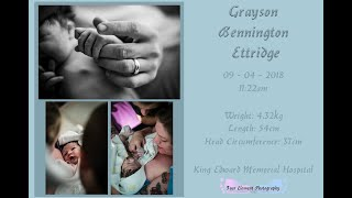 Birth of Baby Ettridge | Assisted Natural | King Edward Memorial Hospital
