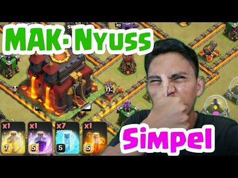 SIMPEL Bikin Pro, Attack TH 10 Hog  Dan Witch ,COC INDONESIA