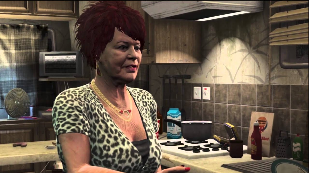 gta v meeting trevors mom prostitute youtube. Black Bedroom Furniture Sets. Home Design Ideas
