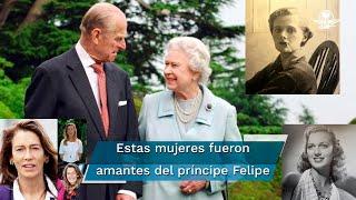 El príncipe Felipe, duque de Edimburgo, era todo un galán en sus mejores tiempos, a pesar de estar casado con la reina Isabel II y tener guardias todo el tiempo, se las ingenió para tener varios amoríos