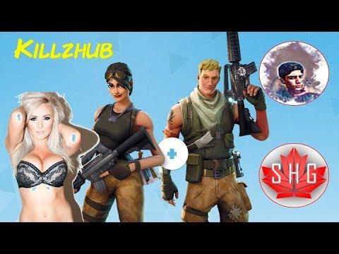 Social Hour Gaming: KILLZHUB|top solo (fortnite battle royal)
