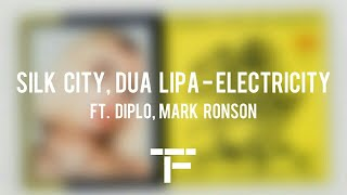 [TRADUCTION FRANÇAISE] Silk City, Dua Lipa - Electricity ft. Diplo, Mark Ronson