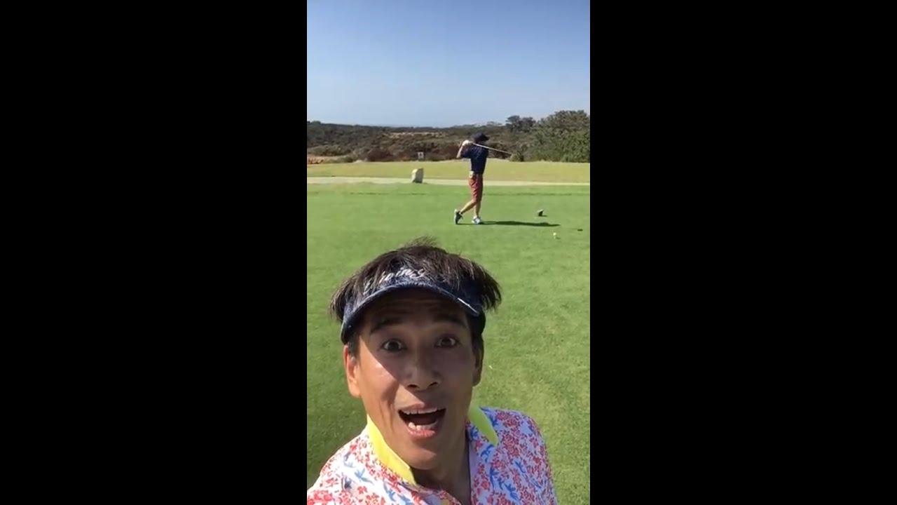 【2021全米オープンゴルフ】California でゴルフ☆#Shorts