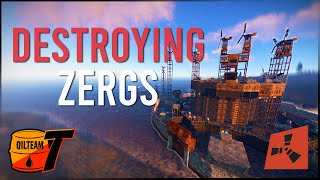 Rust   Dominating Zęrg Warfare with OT on Vital Main   Wipe Progression