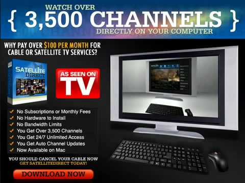 Satellite Direct   Highest Converting Tv to PC Product