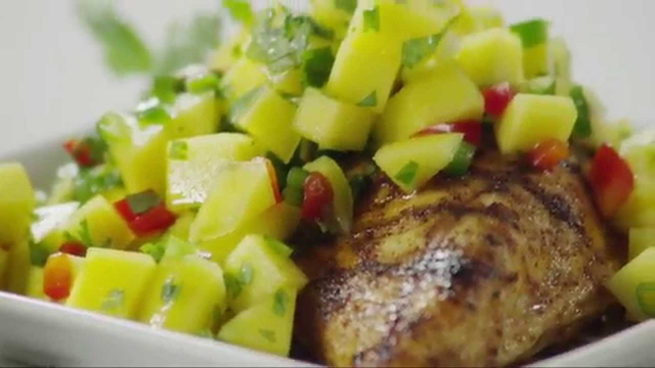 how to use mango salsa