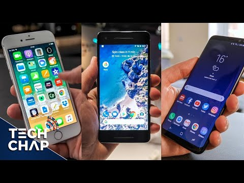 Google Pixel 2 vs Galaxy S8 vs iPhone 8 - Best Phone? | The Tech Chap