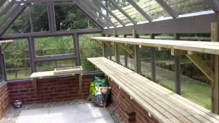 Bespoke Timber Greenhouse
