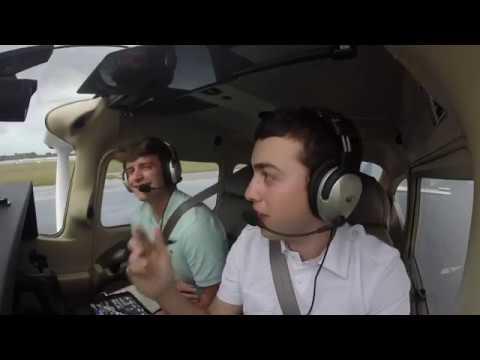 Flying To Cuba - Cessna 182 - RAINY LANDING - Havana, Cuba - MUHA